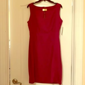 Burgundy fitted dress by Laundry